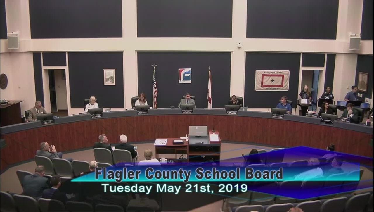 Board Meeting May 21, 2019