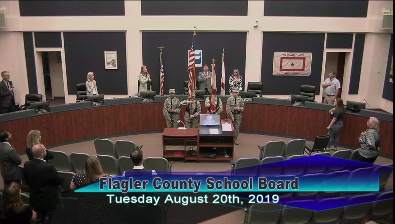 Board Meeting August 20, 2019