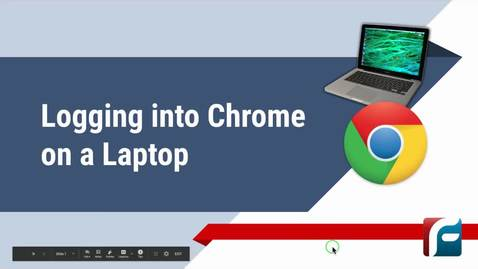 Thumbnail for entry Logging into Chrome Laptop