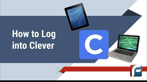 Thumbnail for entry How to Log into Clever