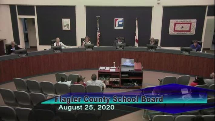 Board Meeting - August 25th, 2020