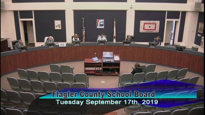Special Board Meeting September 17, 2019