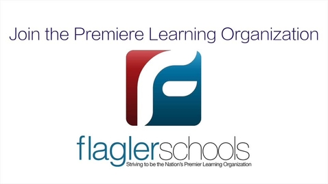 Thumbnail for entry Join Flagler Schools