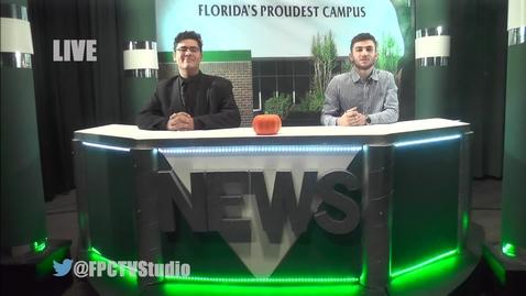 Thumbnail for entry FPC-TV NEWS NOVEMBER 14, 2017