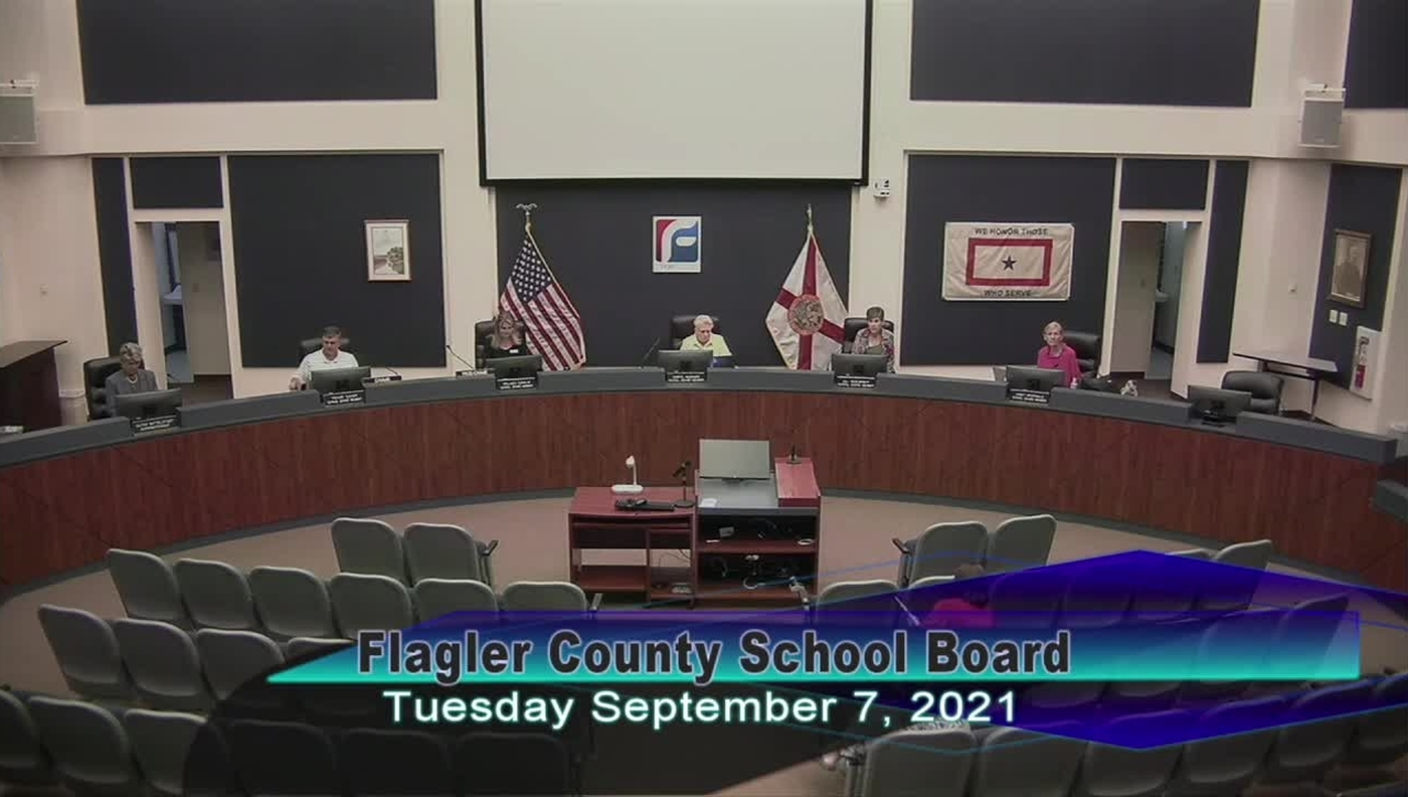 Special Board Meeting - September 7, 2021