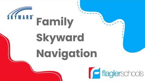 Thumbnail for entry Skyward Family Access Navigation