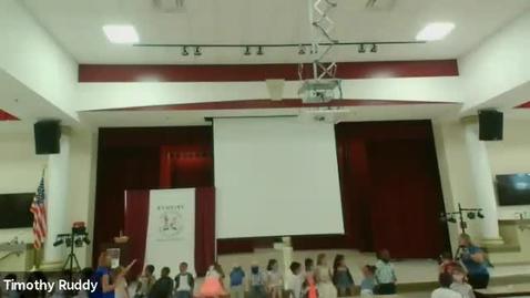 Thumbnail for entry RES 2021 Kindergarten Celebration