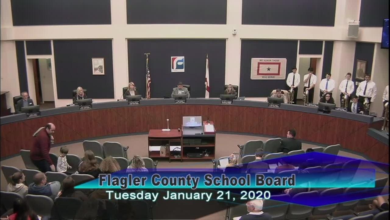 Board Meeting January 21, 2020
