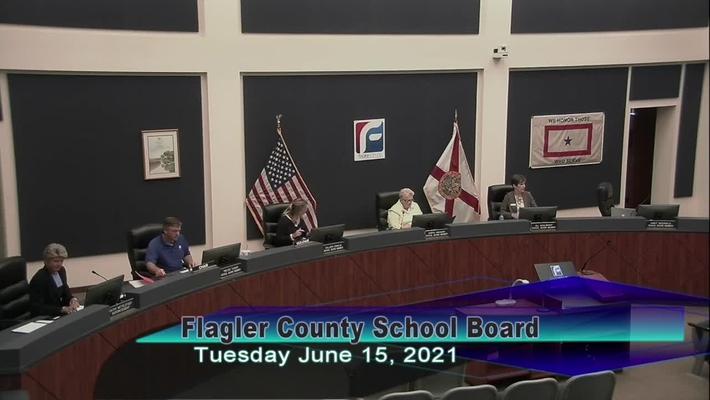 Board Meeting - June 15th, 2021