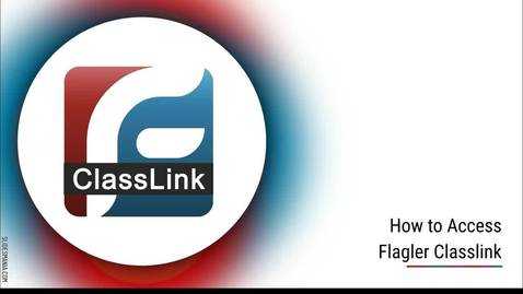 Thumbnail for entry How to Access Flagler Classlink
