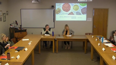 Thumbnail for entry 03/22/2019 Critical Approaches to Superfoods Workshop