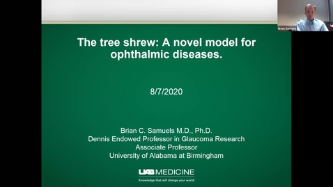 Thumbnail for entry The tree shrew: A novel model for ophthalmic diseases