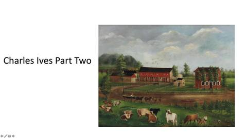 Thumbnail for entry Charles Ives Part Two