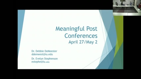 Thumbnail for entry Meaningful_PostConferences_20170502.mp4