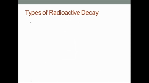 Thumbnail for entry Types of Radiation