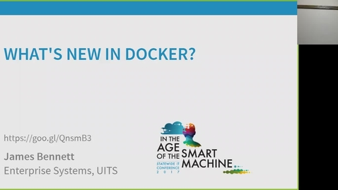 Thumbnail for entry Breakout session | What's new in Docker?