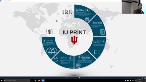 Thumbnail for entry Breakout session | Exploring IU Print
