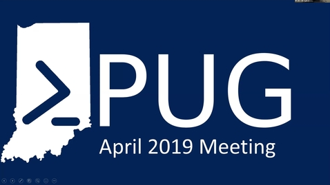 Thumbnail for entry INPUG 2019-04 - Open Topic Night