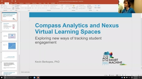 Thumbnail for entry Breakout session | Compass analytics and Nexus virtual learning spaces