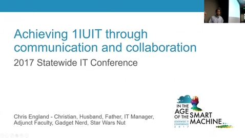 Thumbnail for entry Breakout session | Achieving 1IUIT through communication and collaboration