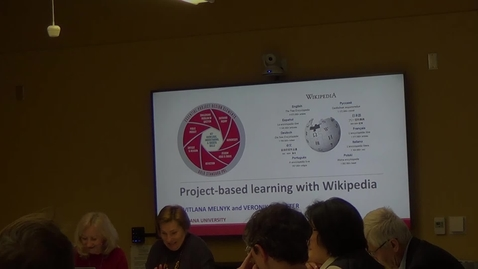 Thumbnail for entry Project Based Language Learning with Wikipedia