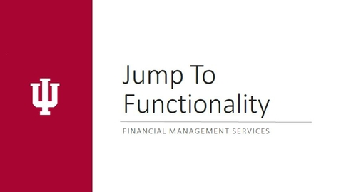 Thumbnail for entry KFS Jump To Functionality