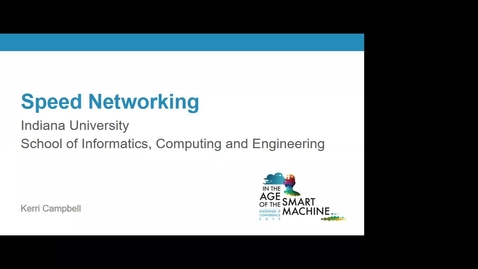 Thumbnail for entry Breakout session | Speed networking with IU Women in IT