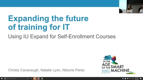 Thumbnail for entry Breakout session | Expanding the future of training for IT