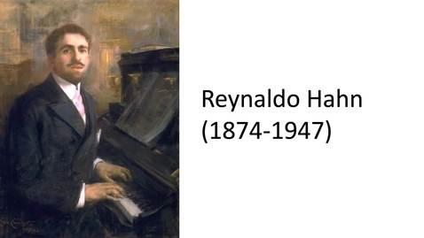 Thumbnail for entry Reynaldo Hahn: Exquisite Craftsman