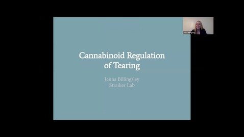 Thumbnail for entry Cannabinoid regulation of tearing