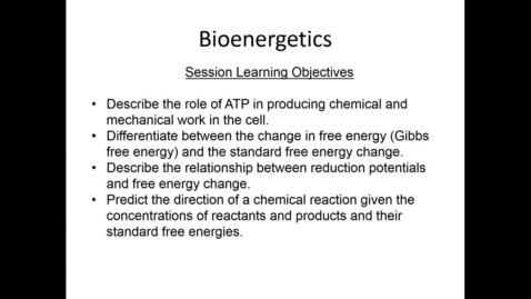 Thumbnail for entry WL | MCT | 161018 | Forney | Bioenergetics