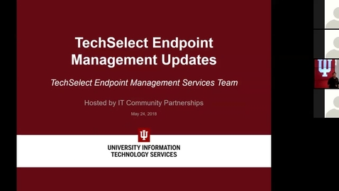 Thumbnail for entry Windows Endpoint Management Updates May 24, 2018