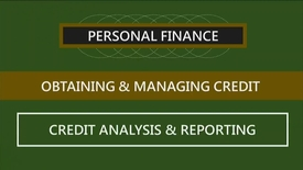Thumbnail for entry F260_Lecture 06-Segment 2_Credit Analysis & Reporting