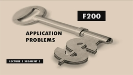 Thumbnail for entry F200 03-3 Application Problems