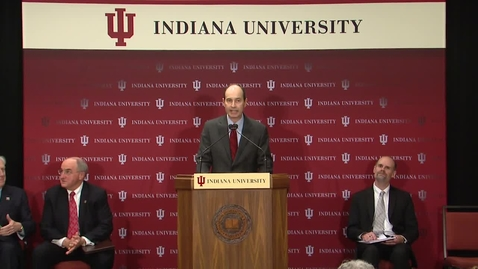 Thumbnail for entry Indiana University, IU Health contribute $11.5 billion annually to state economy