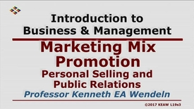 Thumbnail for entry W200_Lecture19-Segment 3: Personal Selling & Public Relations