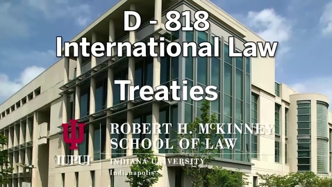 Thumbnail for entry D818 Treaties