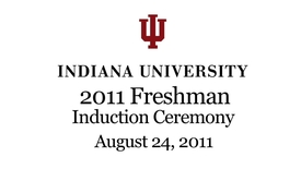 Thumbnail for entry Freshman Induction Ceremony 2011