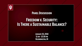 Thumbnail for entry CIBER Symposium on Cybersecurity & Sustainable Development: Freedom v. Security - Jan. 26, 2018