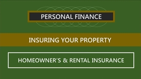Thumbnail for entry F260_Lecture 09-Segment 2_Homeowner's & Rental Insurance