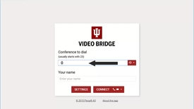 Thumbnail for entry Connecting to an IU Webinar using Google Chrome and Pexip