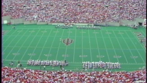 Thumbnail for entry 1986-10-11 vs Ohio State - Halftime (Homecoming)