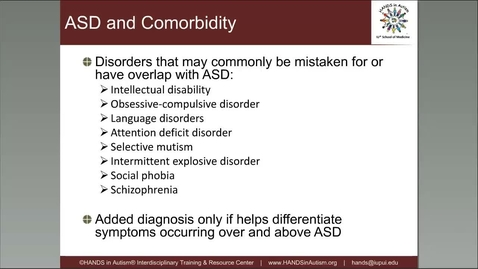 Thumbnail for entry ASD & DSM 5_ Making Sense of Changes