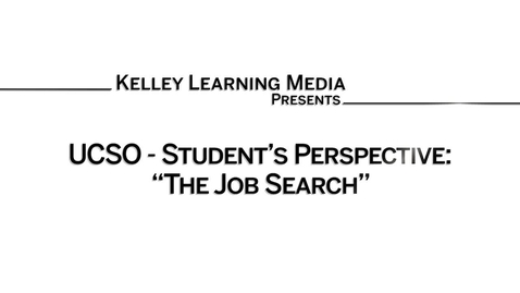Thumbnail for entry 2016_3_15_UCSO - Tehanee's Series_Students - Job Search (upload 6/28)