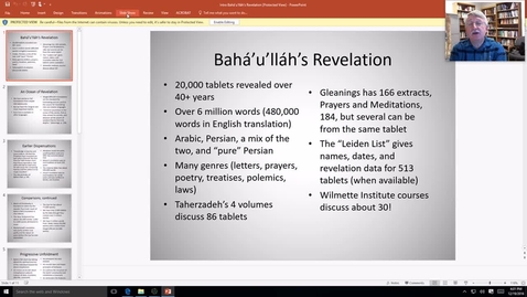 Thumbnail for entry Brief Introduction to Baha'u'llah's Revelation