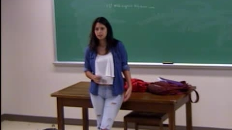 Thumbnail for entry  Sofia Espada Speech #2
