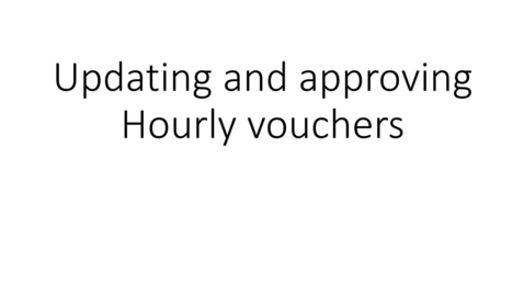 Thumbnail for entry HRMS - Updating hourly vouchers