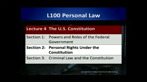 Thumbnail for entry L100 04-2 Personal Rights Under the Constitution