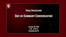 Thumbnail for entry CIBER Symposium on Cybersecurity & Sustainable Development: Day-in-Summary  - Jan. 26, 2018