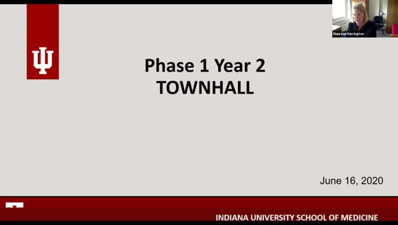 Phase 1 Year 2 Town Hall